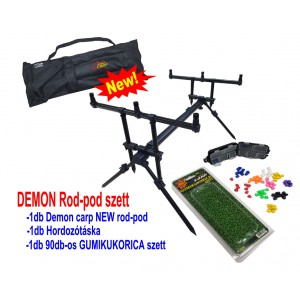 Demon Carp Rod-Pod szett
