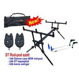 Demon Carp ST Rod-Pod szett